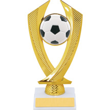 Soccer Trophy - Small Soccer Falcon Riser Trophy