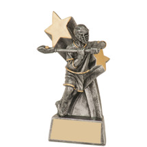 Male Lacrosse Super Star Resin Trophy - 6""