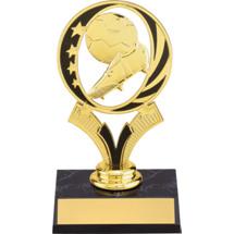 Soccer Trophy - Soccer Trophy With Midnite Star Riser
