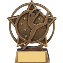 Dance Star Orbit Resin Trophy