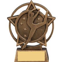 Dance Star Orbit Resin Trophy