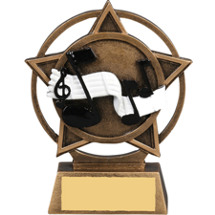 Music Star Orbit Resin Trophy