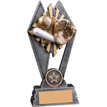 Sunray Baseball Resin Trophy - 7""