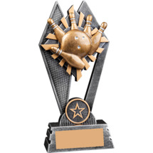 """Sunray Bowling Resin Trophy - 7"""""""