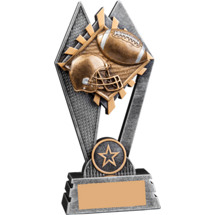 Sunray Football Resin Trophy - 7""