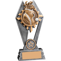 Sunray Golf Resin Trophy - 7""