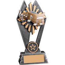 "Sunray Music Resin Trophy - 7"""