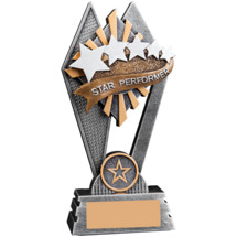 Sunray Star Performer Resin Trophy - 7""