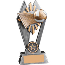 Sunray Volleyball Resin Trophy - 7""