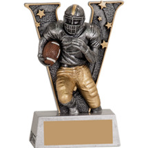 Victory Football Resin Trophy - 5""