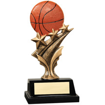 Resin Basketball Star Trophy