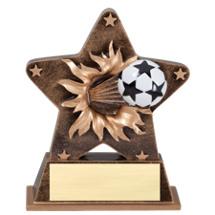 Soccer Trophy - Soccer Starburst Trophy