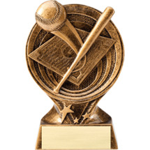 Baseball Resin Trophy - 6""