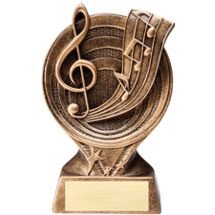 Music Resin Trophy - 6""