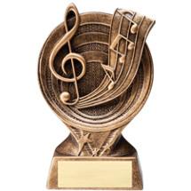 "Music Resin Trophy - 6"""