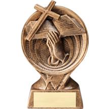 """Religious Resin Trophy - 6"""""""