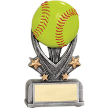 Softball Trophy - Softball Resin Trophy