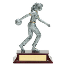 Limited Quantity! Girls Bowling Trophy - Female