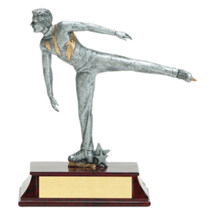 Limited Quantity! Ice Figure Skating Trophy - Male