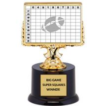Big Game Super Squares Winner Trophy