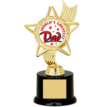 World's Greatest Dad Trophy