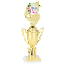 World's Greatest Mom Cup Trophy - Mother's Day Trophy