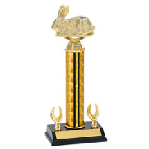"10"" Easter Bunny Trophy - Rabbit Trophy"