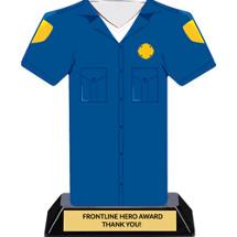 Firefighter Frontline Hero Trophy - 7 inches