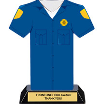Paramedic Frontline Hero Trophy - 7 inches