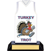 Turkey Trot Trophy - 7 inches