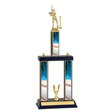 Boys T-Ball Trophy - Three Column T-Ball Trophy