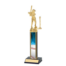 Girls T-Ball Trophy - Classic T-Ball Trophy